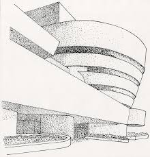 architecture building drawing. Beautiful Drawing TWA Terminal0001 Guggenhiem Museum0001 In Architecture Building Drawing 0