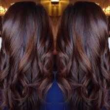 Best Long Curled Chocolate Brown Hair
