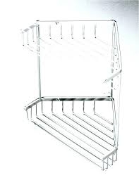 free standing corner shower rust proof medium size of pole tension bronze and towel caddy hanging cad