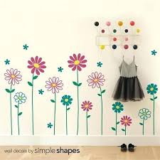 wall decor floral flower wall decal daisy wall sticker floral wall decor girls room floral wall on flowers wall art decor vector with wall decor floral laughlinbaymarina