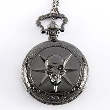 best pocket watches page 5 tommy premium vintage black skull skeleton pocket watch necklace man steampunk pendant chain best gift for friend p374