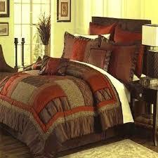 bed comforter sets orange bedding