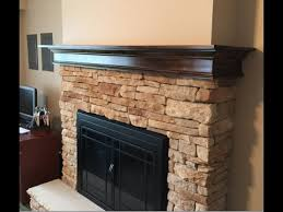 build a fireplace mantel