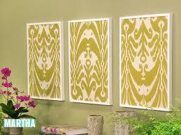 on fabric wall art panels with video framed fabric martha stewart
