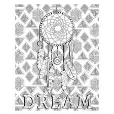 Hobby Lobby Dream Catcher Dreamcatcher Coloring Poster 100 x 100 Hobby Lobby 100 23