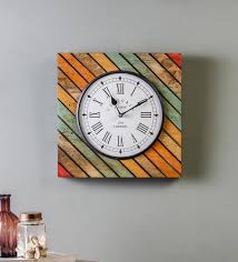 multicolour solid wood og wall