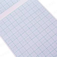 A4 Math Pad Graph Paper 2 10 20mm Square Grid 80 Page School