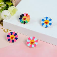 Fashion Brand 3D Sun <b>Flower Funny Cute</b> Silicone Wireless ...