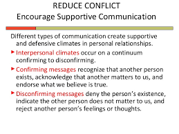 disconfirming messages interpersonal communication essay  understanding the communication climate universal class
