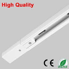 track lighting rails. 2018 Dhl 1m Led Light Track Rail Bar Aluminum Universal Spot Lamp T Lighting System Fixtures Rails 1 Phase Circuit 2 Wire White Black From N