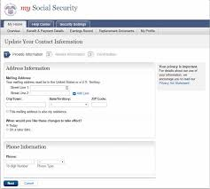 Social Security Direct Deposit Form Unique Social Security Change Of Address How To Guide