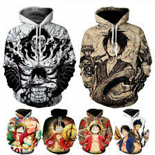 <b>one piece anime</b> hoodie products for sale | eBay