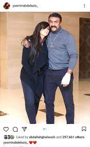 ريهام حجاج تنشر مع زوجها نفس صورة ياسمين عبد العزيز والعوضي في يوم الحب