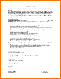 Property Manager Resume Sample Bio Resume Samples