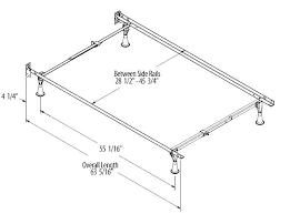 Bed Frame Dimensions Diy Twin In Feet Full Xl Size Headboard