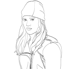 Coloring Pages Descendants With Mal From Descendants Coloring Page