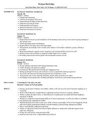 Porter Job Description For Resume Best of Brilliant Ideas Of Sample Resume For Restaurant Server Bartender