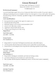 Real Estate Resumes Awesome Real Estate Salesperson Resume Top 48 Commercial Real Estate Agent