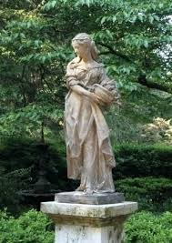 garden statues plantation in of many one is a figure of a young lady winter garden statues