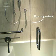 how to install shower door sweep shower door and facts door stop and seal seals install how to install shower door sweep