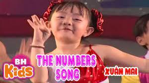 The Numbers Song - One Two Three Four Five | Bài Hát Tiếng Anh Thiếu Nhi -  Tuyển tập nhạc thiếu nhi hay. - #1 Xem lời bài hát