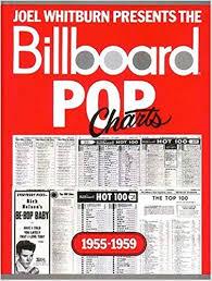 Billboard Pop Charts 1955 1959 Joel Whitburn 0073999952278