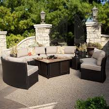 fire pit patio sets for less