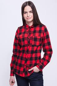 <b>Рубашка URBAN CLASSICS Ladies</b> Turnup Checked Flanell Shirt ...