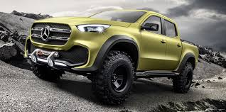 Mercedes Pickup Truck Concept: Here it Is