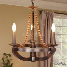 3 lights candle style pendant lighting