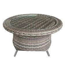 round wicker end table image 1 wicker base table lamp