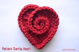 Crochet Heart Pattern Free Impressive Snovej Circle 4848015 Hearts To Make