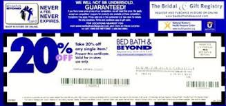 Bed Bath And Beyond Canada Coupon 2016