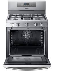 stove samsung. samsung - nx58f5700ws 5.8 cu. ft. gas range w/ true convection stainless steel | sears outlet stove