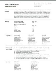 Library Technician Resume And Cover Letter Megakravmaga Com