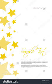 Stars Invitation Template Stars Invitation Template Stock Vector Royalty Free 38459566