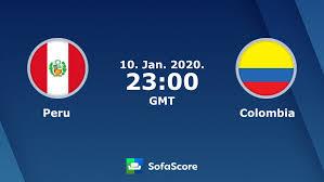 Peru Colombia en vivo ver partido online y resultado en directo - SofaScore