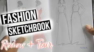 Books About Fashion Design Beginners Fashion Design Sketch Book Review Tour Fashion Sketchbook