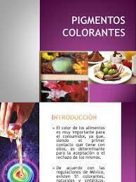09 Tema Colorantes Y Pigmentos 1 Pdf