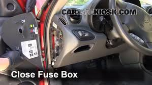 interior fuse box location 1999 2005 pontiac grand am 2000 interior fuse box location 1999 2005 pontiac grand am 2000 pontiac grand am gt 3 4l v6 sedan 4 door