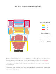 Hudson Theatre Seating Chart 1984 Seating Guide Hudson Theater Seating Chart