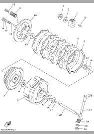 2002 yamaha tt r125 ttr125p clutch parts best oem clutch parts rh bikebandit 5 3 engine wiring diagram gm ls wiring diagram