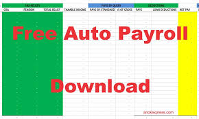 Payroll Download Fully Formatted Payroll Free Payroll Download Anokexpress