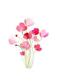 Resultado de imagem para watercolours flower