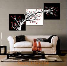 3 panel money tree modern wall art black and white decorative painting home decor print on canvas black and white painting canvasprintworld canvas  on canvas wall art cheap with 3 panel money tree modern wall art black and white decorative