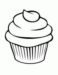 Small Picture Free Printable Cupcake Coloring Pages For Kids