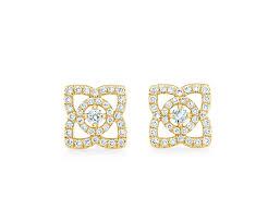 Small Diamond Tops Designs Diamond Earrings For Women Studs Hoops Drops De Beers
