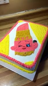 Shopkins Lippy Lips Cake Buttercream Icing Cool Cakes In 2019