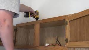 led above cabinet lighting. abovecabinet lighting how to install led strip lights step 1 led above cabinet