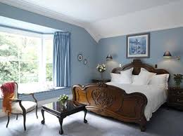 Luxury Blue Bedroom Wall Color